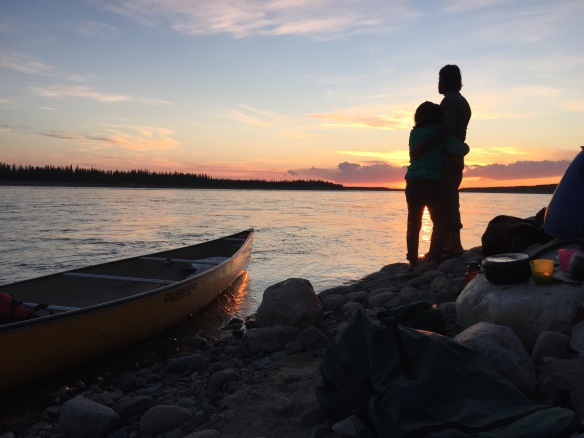 The final day of our leg on the Mackenzie River, NWT