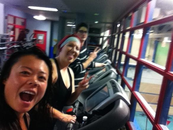 Selfie YMCA GYM TEAM!