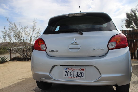 Mitsubishi Mirage Dollar Car