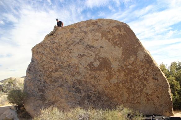 Wave Boulder -West Arete V0
